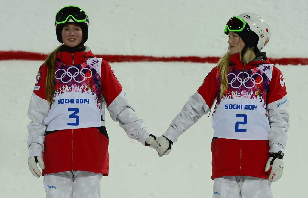 OLY-2014-FREESTYLE-MOGULS-WOMEN-PODIUM